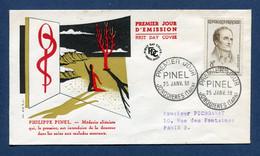 ⭐ France - FDC - Premier Jour - Pinel - Jonquières - 1958 ⭐ - 1950-1959