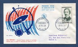 ⭐ France - FDC - Premier Jour - Foucault - Paris - 1958 ⭐ - FDC