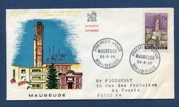 ⭐ France - FDC - Premier Jour - Maubeuge - 1958 ⭐ - 1950-1959