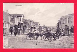 E-Turquie-92A112  Angora, La Rue Arifiyé, Attelages, Cpa - Türkei