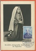 RELIGION MONACO CARTE MAXIMUM DE 1958 - Cristianesimo
