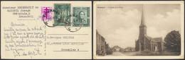 Affranch. Mixte (Expres N°292H + N°788 Et 807) Sur CP Vue Brasménil, Envoyé De Tournai (1949) > Bruxelles 4 - Brieven En Documenten