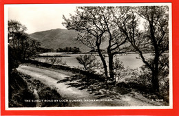 SCOTLAND ARGYLLSHIRE  ARDNAMURCHAN  THE SUNLIT ROAD BY LOCH SUNART RP - Argyllshire