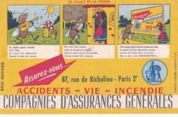 Buvard Compagnie D'Assurances Générales Paris - Bank En Verzekering