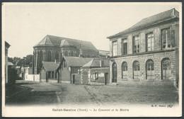 Saint-Saulve - Le Couvent Et La Mairie - B. F. Paris - Voir 2 Scans - Other Municipalities