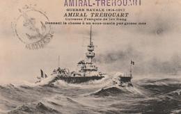 13345  AMIRAL-TRÉHOUART -École Des Chefs De Poste De TSF (2 Scans) - Poststempel (Briefe)