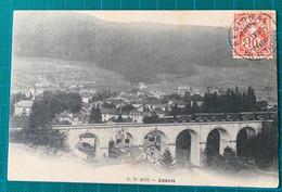 Suisse - Canton De Neuchatal - Cad De L'ambulant Régional Du VAL DE TRAVERS-  +griffe COUVET - 1906 - - Brieven En Documenten