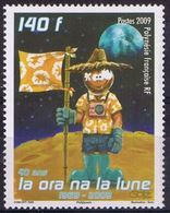 """Polynésie YT 875 """" 1er Homme Sur La Lune """" 2009 Neuf** - Nuevos"""