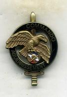 Insigne, Brevet Commando (1er Choc) Aguerrissement___boussemart - Landmacht