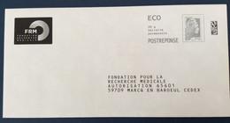 PAP Réponse Neuf Marianne L'engagée FRM  POSTREPONSE Ecopli - Postwaardestukken
