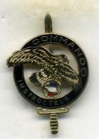 Insigne, Brevet Commando Instructeur   (1er Choc) ___drago - Hueste