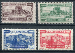 Grand Liban      193/196 ** - Great Lebanon (1924-1945)