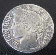 France - Monnaie 1 Franc Cérès 1881 A (Paris) En Argent - Francia