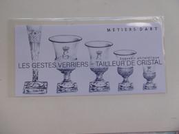 FRANCE 2018  BS152   * *    BLOC  METIERS D ART  TAILLEUR DE CRISTAL  SOUS BLISTER D ORIGINE - Souvenir Blocks