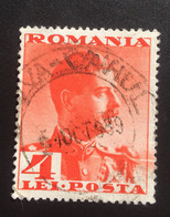 Romania/Roumanie 4 Lei 1934 King Carol II - 1918-1948 Ferdinand, Charles II & Michael