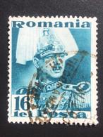 Romania/Roumanie 16 Lei 1935 King Carol II - 1918-1948 Ferdinand, Charles II & Michael