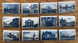 Lot De 12 VIGNETTES 1942 - MNH NEUF - SERIE COMPLETE  - AIDE AUX ARTISTES PARIS - LUXE - Andere