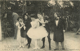 NANCY FETE DU COURONNEMENT DE LA MUSE DU PEUPLE  15 AOUT 1909 - Nancy