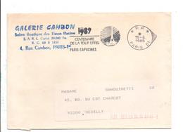 FLAMME PORT PAYE CENTENAIRE TOUR EIFFEL 1989 - Annullamenti Meccanici (pubblicitari)
