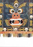 Cp Vierge, Art Religieux, Bouddhisme, Tablier De Lama Danseur, Tibet - Boeddhisme