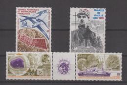 TAAF Année Complète 1991 En Poste Aérienne 115 à 118 ** MNH - Poste Aérienne