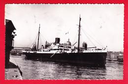 Bateaux-125P56 Compagnie Générale Transatlantique, LE MARIGOT, Type Photo, BE - Steamers