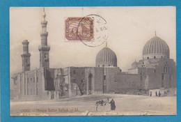 Egypte Cairo Le Caire Mosquee Du Sultan Barkuk LL  Cachet 1913 - Cairo
