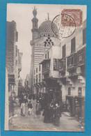 Egypte Cairo Mosquée Bleue Animée LL  Cachet 1913 Port Said - Cairo