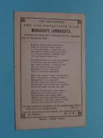 DP > Marguerite LAMBRECHTS () Alken 1 Jan 1897 - 11 Dec 1897 ( Zie Foto's ) Kind Van ...! - Todesanzeige