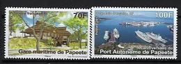"Polynésie YT 979 & 980 "" Port Autonome De Papeete "" 2012 Neuf** - Nuevos"