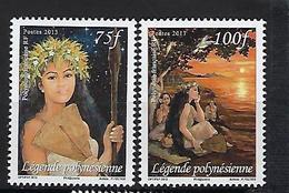 "Polynésie YT 982 & 983 "" Journée De La Femme "" 2012 Neuf** - Nuevos"