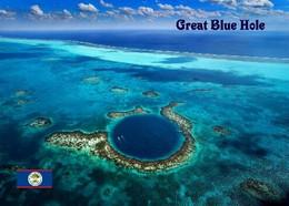 Belize Barrier Reef Great Blue Hole UNESCO New Postcard - Belize