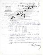92 - Hauts-de-seine - PUTEAUX - Facture PIERSON - Scierie, Commerce De Bois - 1935 - REF 166A - 1900 – 1949