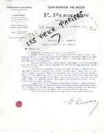 92 - Hauts-de-seine - PUTEAUX - Facture PIERSON - Scierie, Commerce De Bois - 1934 - REF 166A - 1900 – 1949
