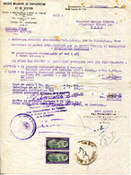 MADAGASCAR.TANANARIVE.SOCIETE MALGACHE DE PARTICIPATION & DE GESTION.2 TIMBRES ENREGISTREMENT MALGACHE. - Bank & Insurance