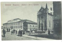 Cpa Italie - Thiene - Municipio - Scuole E Chiesa Colleoni - Andere