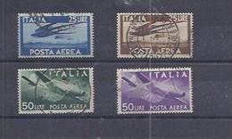 Italien - Selt./gest. Bessere LP-Werte Aus 1945 - Michel 711/14! - 1946-60: Usati