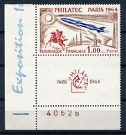 RC 18550 FRANCE COTE 30€ N° 1422 PHILATEC PARIS 1964  NEUF ** MNH - Nuevos