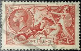 Grande-Bretagne YT N°154 Roi George V. Oblitéré. - Ohne Zuordnung