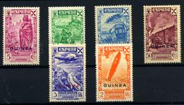 Guinea Española (Beneficencia) Nº 12/17. Año 1943 - Wohlfahrtsmarken