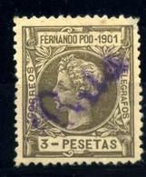 Guinea Española Nº A12. Año 1901 - Non Classificati