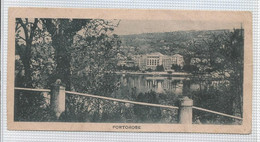 Slovenia - Portoroz (Portorose) - Peu Courant -  Petite Carte 13,5 / 6,8 Cm écrite En 1923 Mignonnette - Slovénie