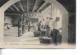 SAINT PREST - Intérieur De L'Usine De Château - Autres Communes