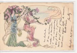 FEMMES Qui Cueillent Des Fleurs - Vrouwen