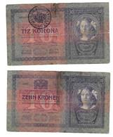 "Roumanie Romania Rumänien 10 Kronen / Korona 1904 TRANSYLVANIA "" TIMBRU SPECIAL "" Ovp # 1 - Rumania"