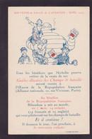 CPA Publicité Michelin Publicitaire Réclame Bibendum écrite Salon De L'aviation 1919 - Publicidad