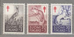 FINLAND  Fauna Animals 1962 Mi 551-53 MNH(**) #25158 - Neufs