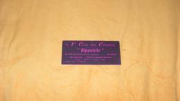 CARTE PUBLICITAIRE...HIPPOLYTE LE 1ER CLUB DES CROULANTS.. - Advertising
