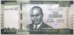 Liberia - 100 Dollars - 2016 - PICK 35a - NEUF - Liberia
