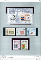 Zaire - Michel 933-937 + Block 57 - ** Mnh Neuf Postfris - - Altri - Africa
